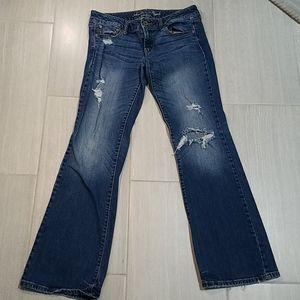 American Eagle Favorite Boyfriend Jeans 10 Long